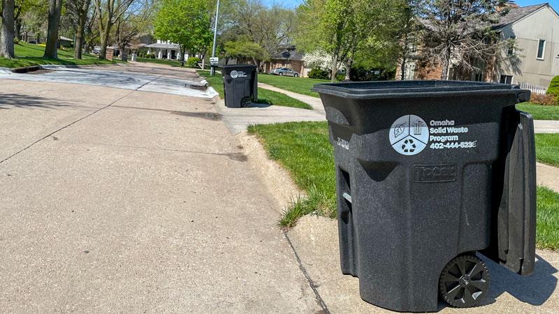 Omaha Trash Pickup Information