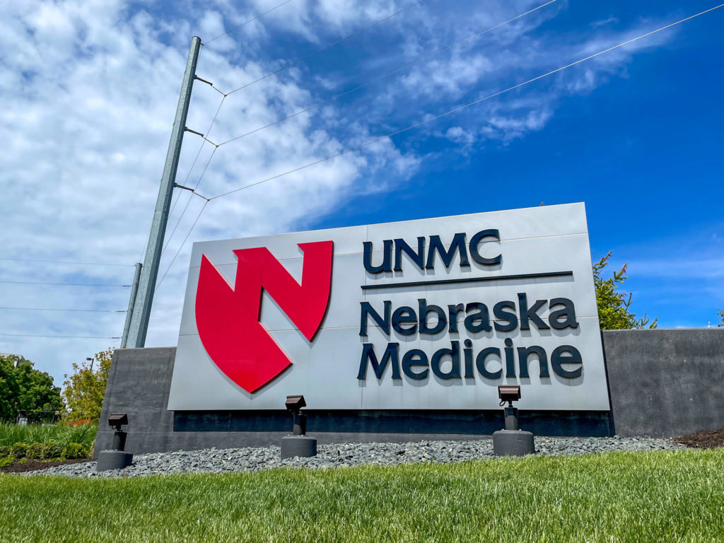 Nebraska Medicine UNMC Entrance in Omaha