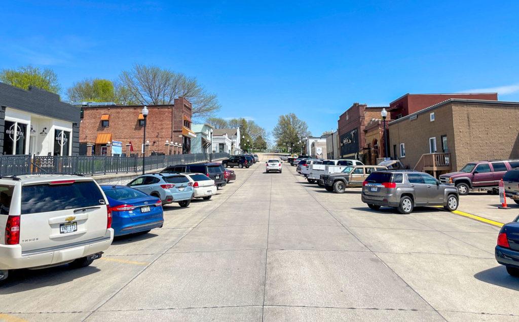 Downtown Bennington, Nebraska