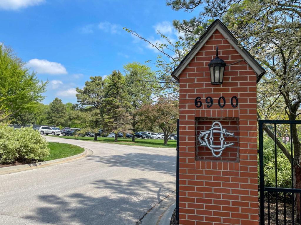 Omaha Country Club Entrance