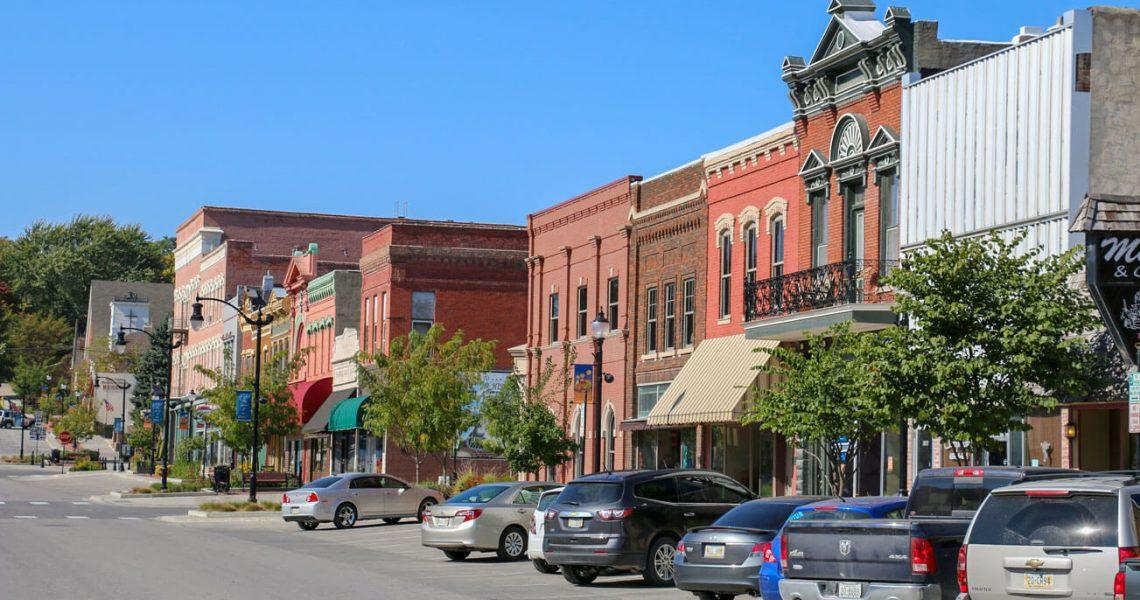 Downtown Plattsmouth, Nebraska